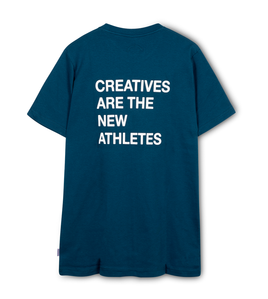Creatives Are the New Athletes Tee Blue
