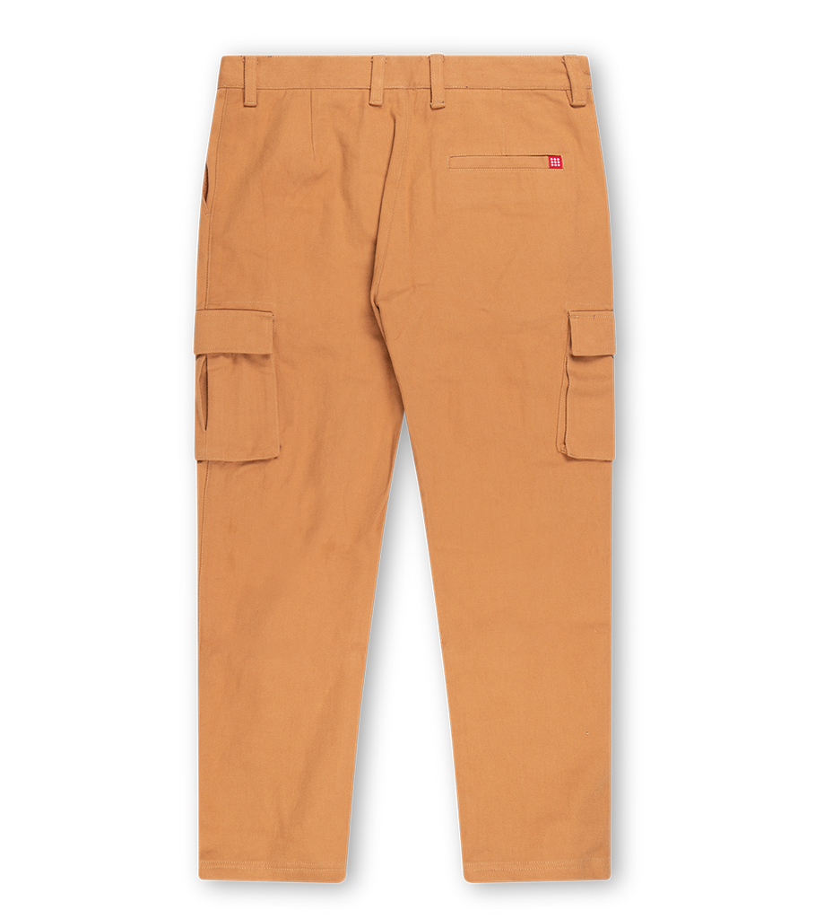 Carota Midfield Trousers Brown