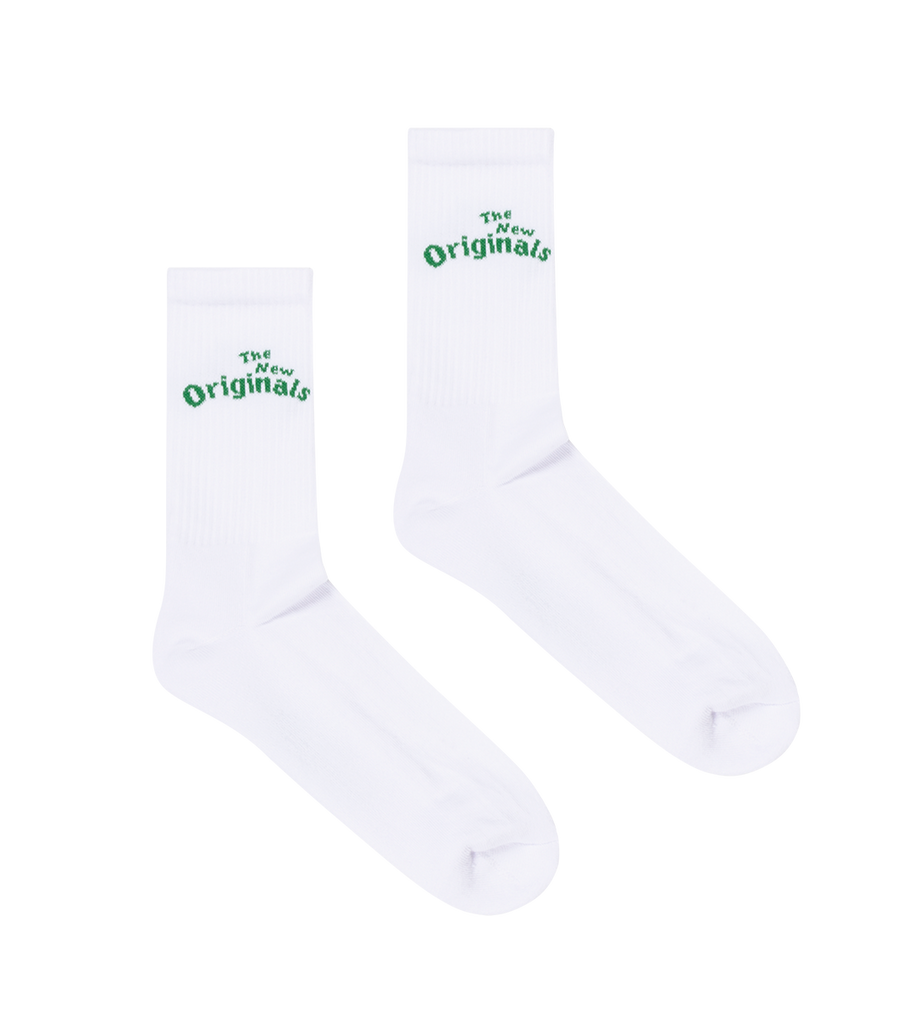 Workman Socks White/Green