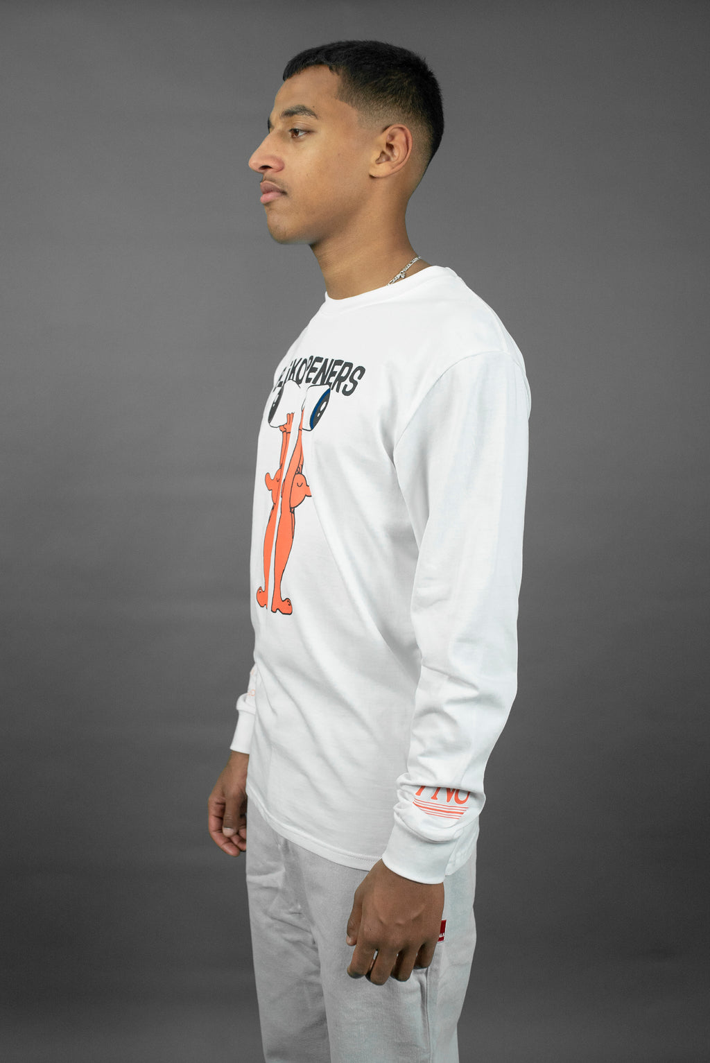 TNO x Blikopeners Long Sleeve | White