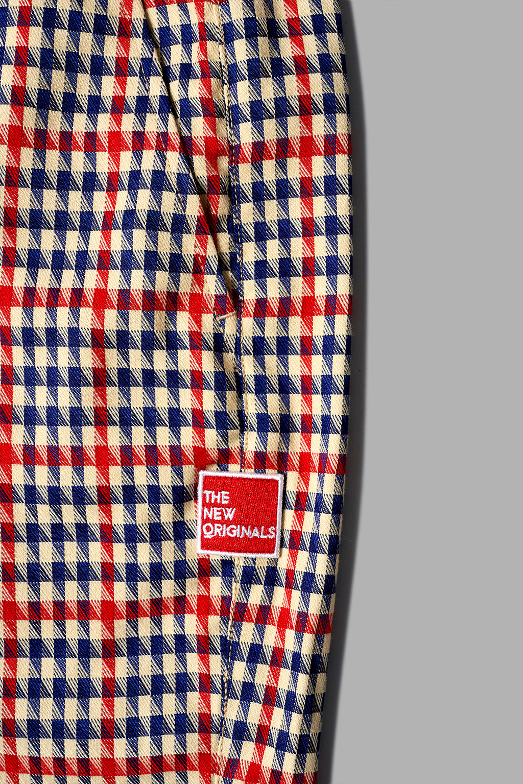 LATTE HARRIS Trousers | Red/Crème