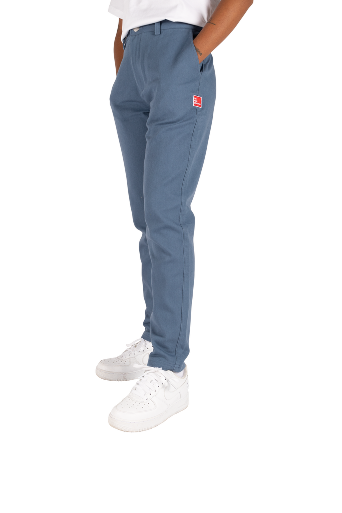 Carota Trousers Blue