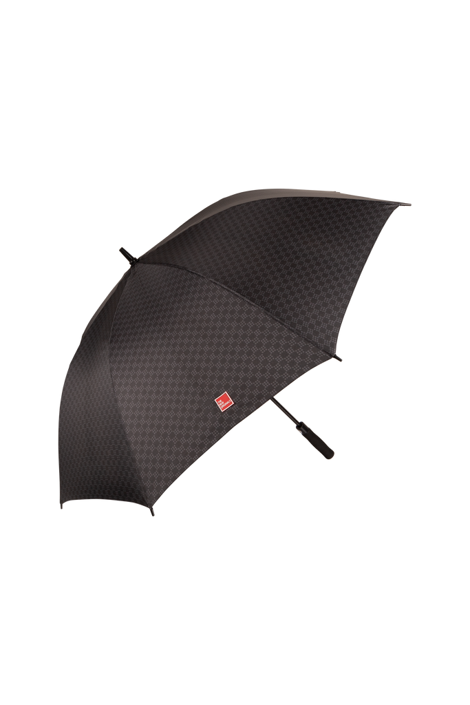 Dots On Dots Umbrella Black