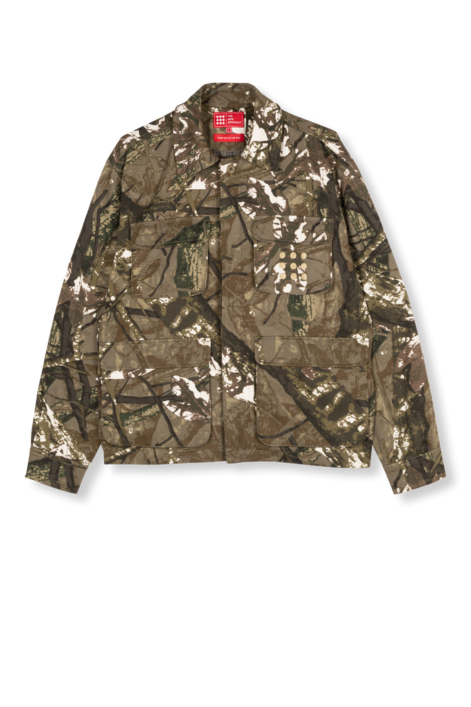 Multi Pocket Jacket Forest Camo