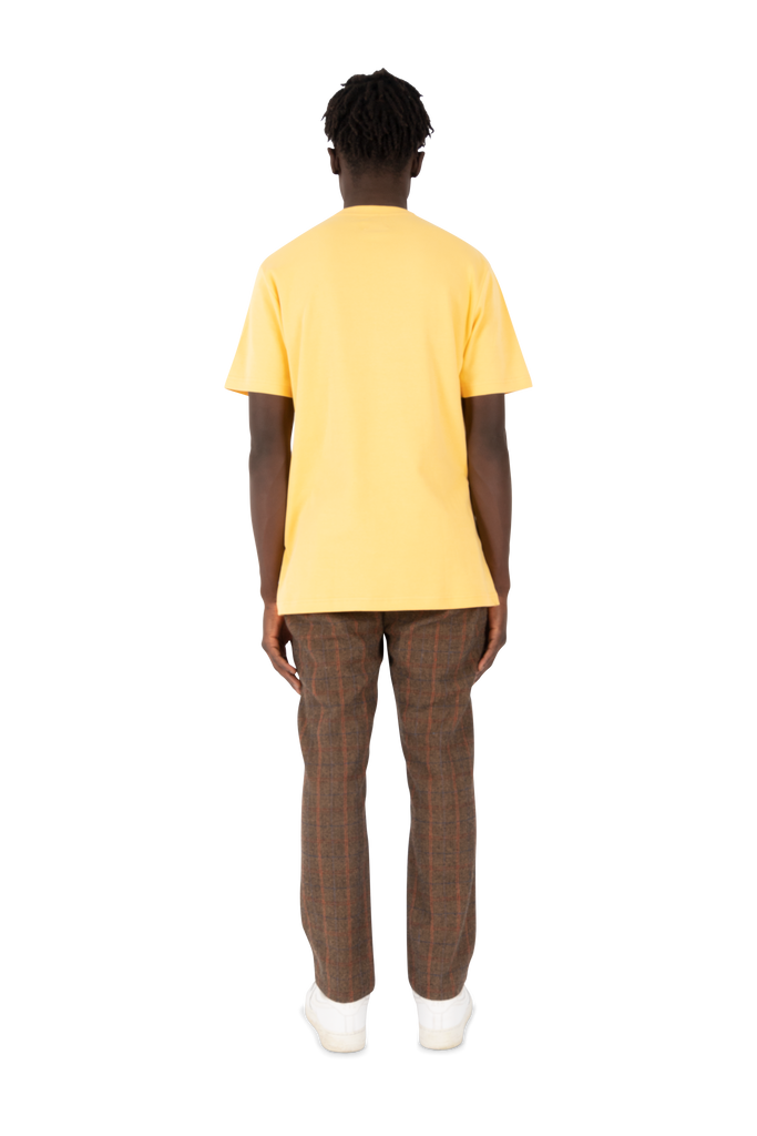 Freddy Chess Tee Yellow