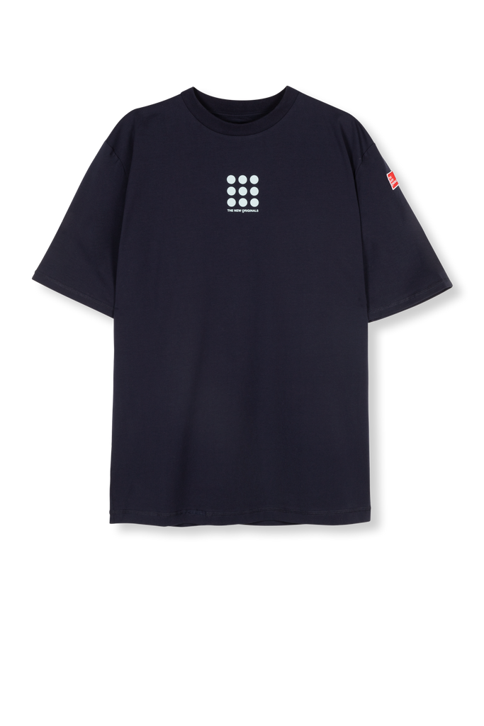 9-Dots Tee Navy/Blue