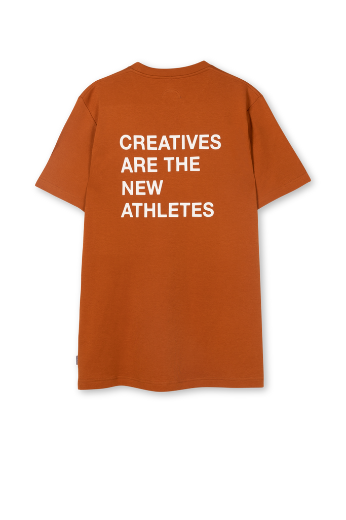 Creatives Are The New Athletes Tee Brown