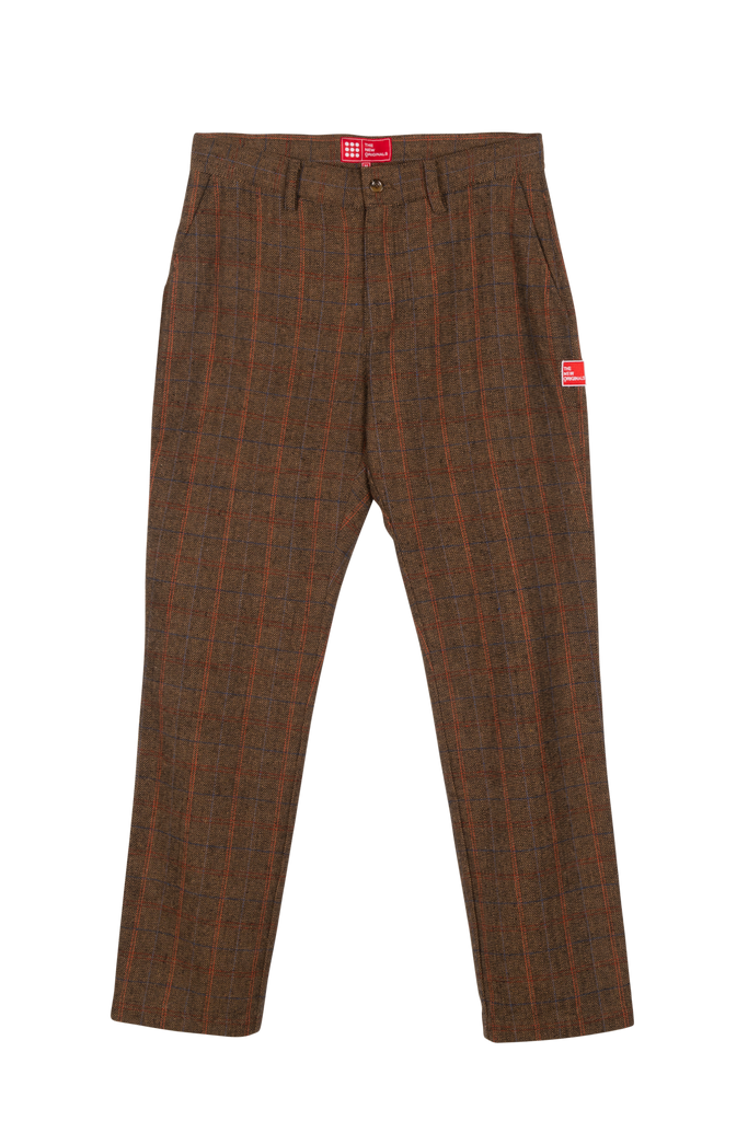 Latte Trousers Tweed