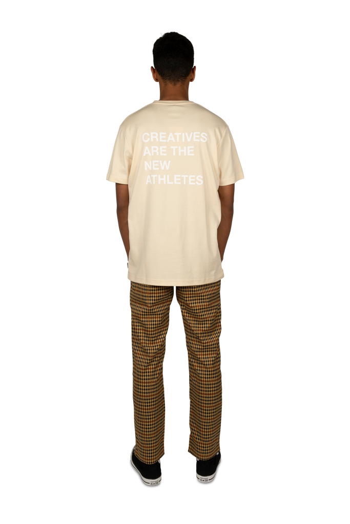 Creatives Are the New Athletes Tee Creme