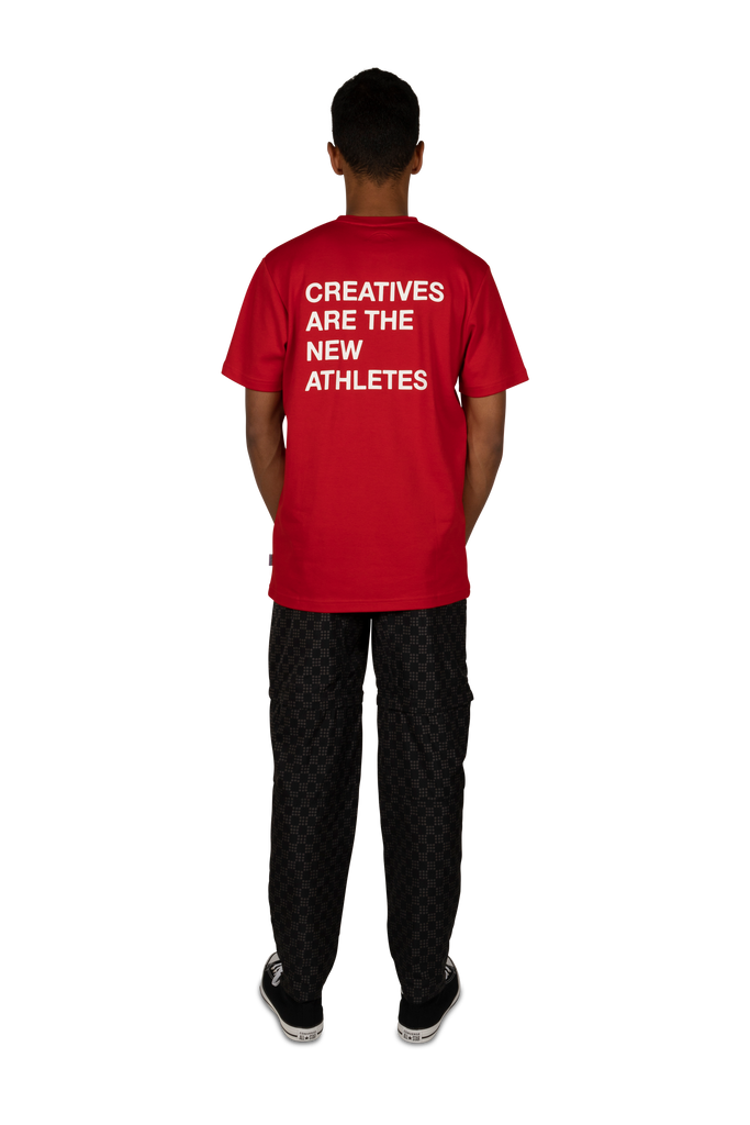 Creatives Are The New Athletes Tee Red