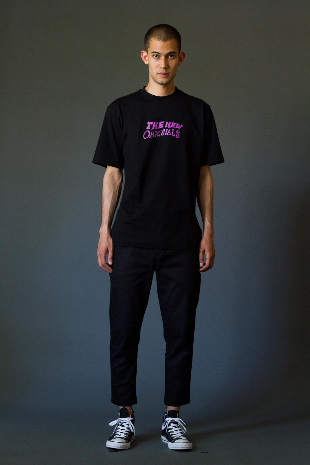 TNO SHAKEY Tee | Black/Purple