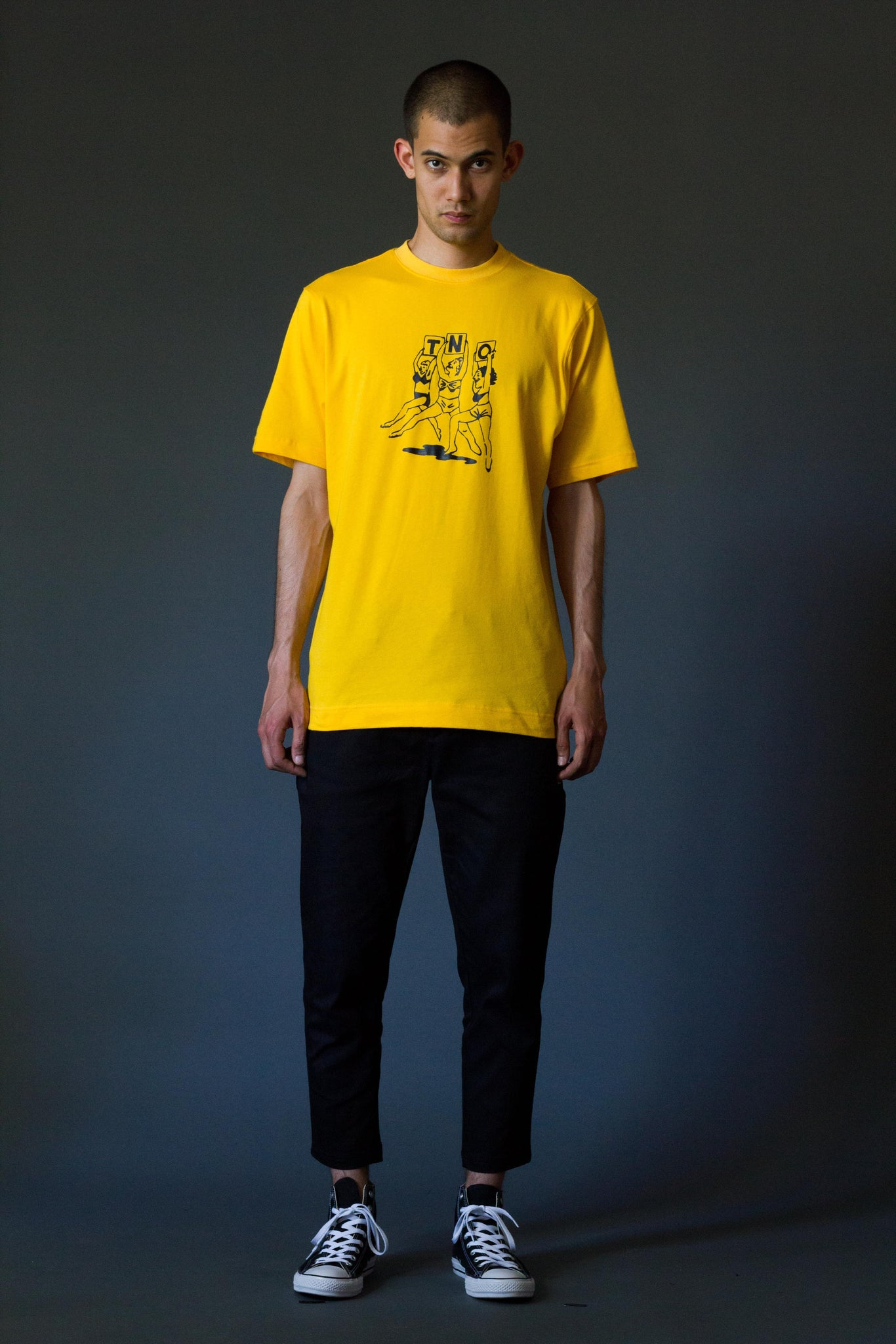 TNO BEACHBABES Tee | Yellow
