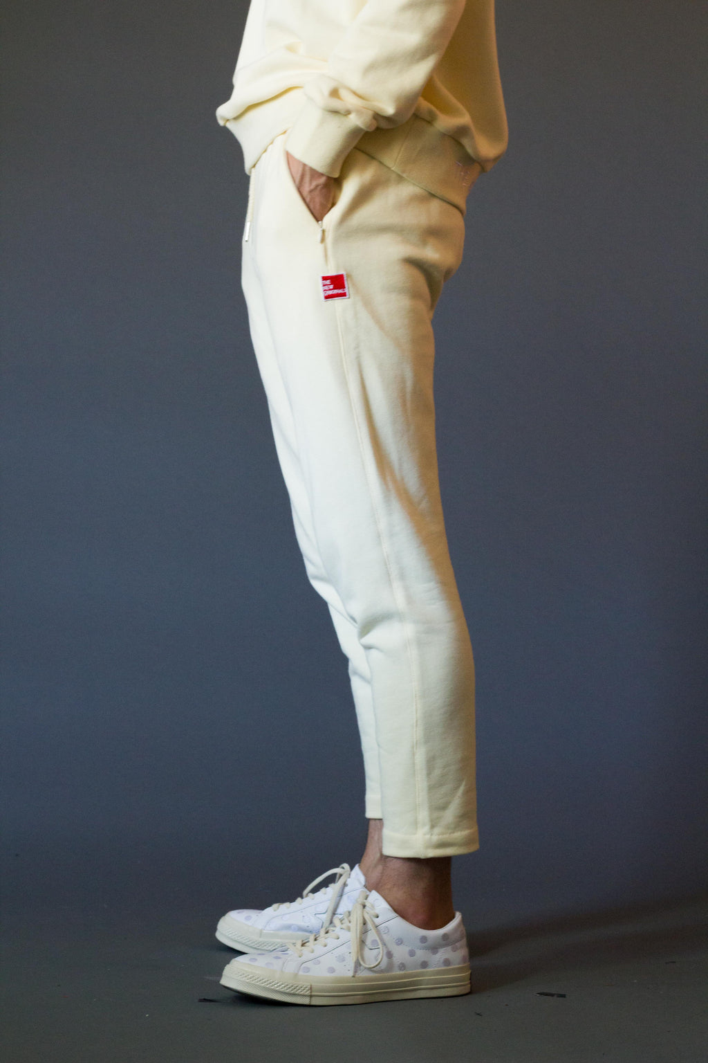 TESTUDO 2.0 FLEECE Trousers | Créme