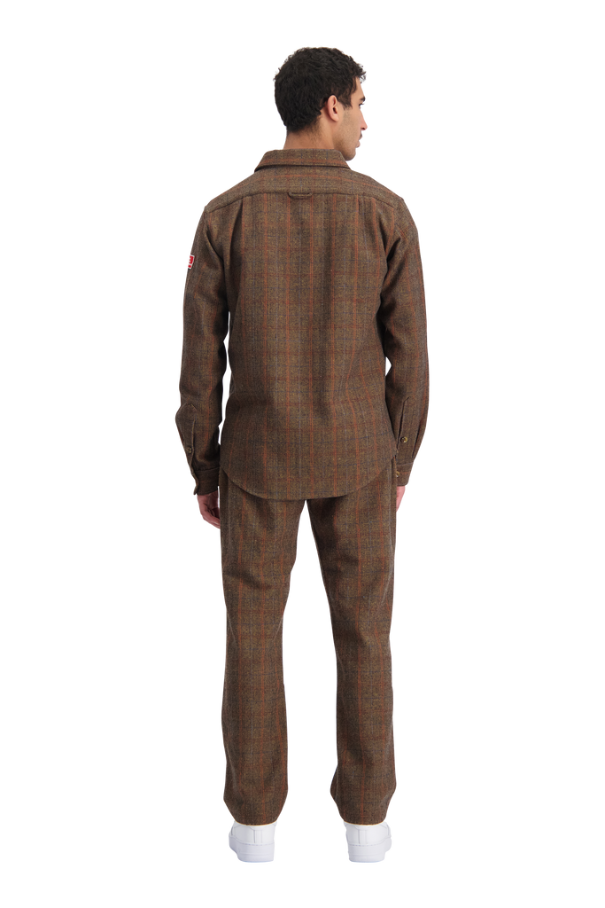 Latte Shirt Tweed