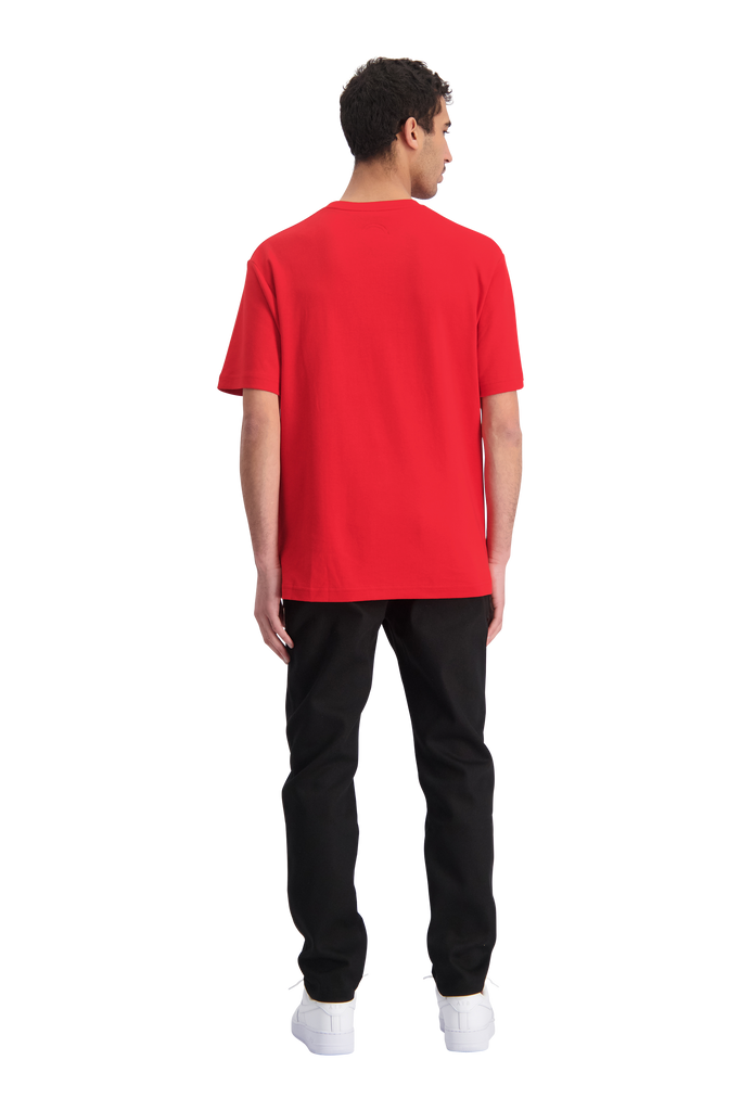 TNO 4 In A Row Tee Red