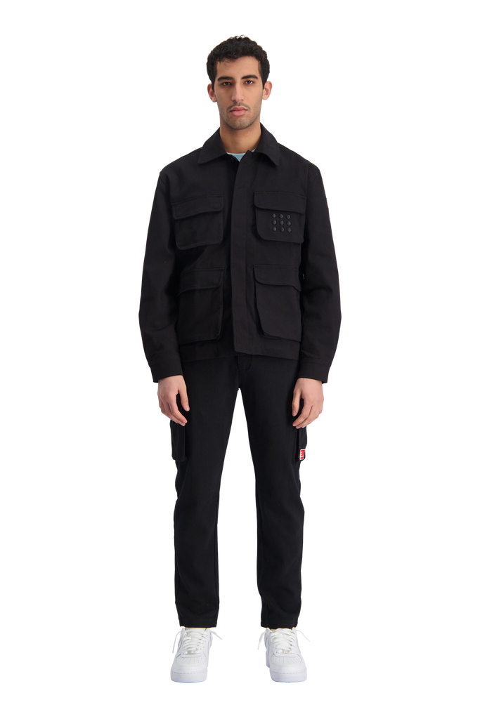 Multi Pocket Jacket Black