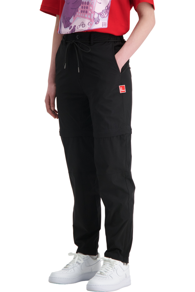 Parachute Trousers Black