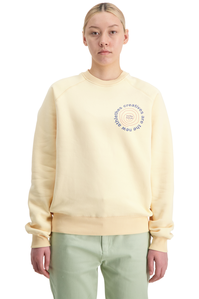 CATNA Circle Sweater Creme