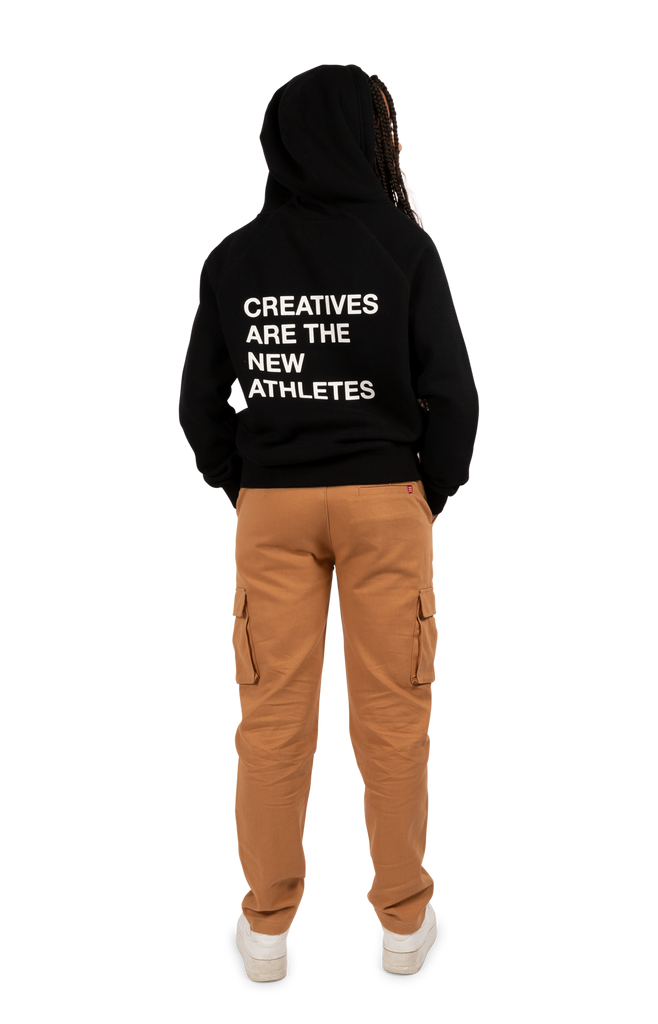 Creatives Are the New Athletes Hoodie Black