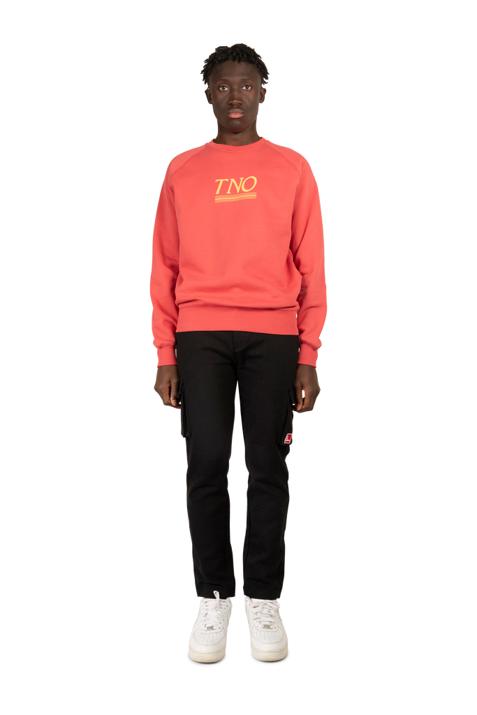 TNO Underline Sweater Coral