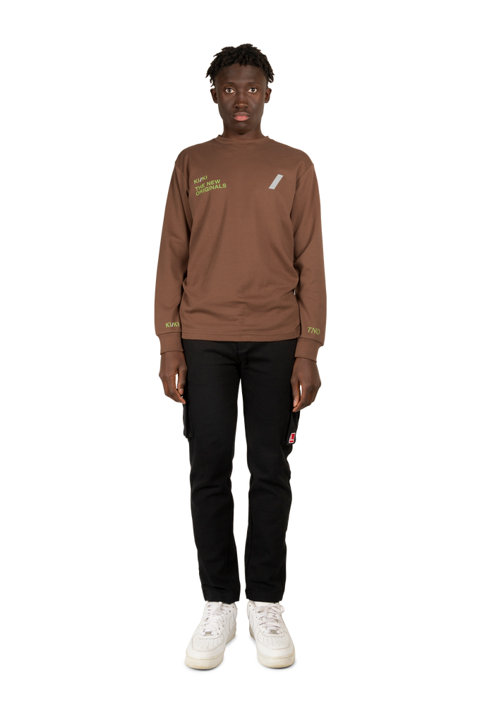 KI/KI Longsleeve Brown