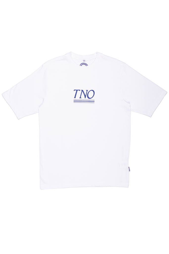 TNO Underline Tee | White / Blue