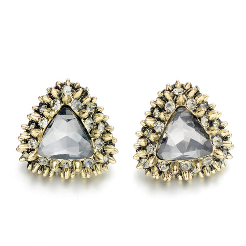 Triangle Thorn Stud Earrings