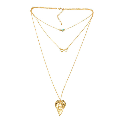 Gold-Tone Multi-Layer Necklace