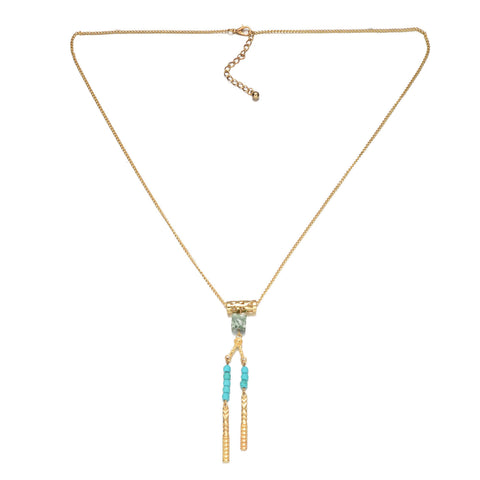 Beads Tassel Necklace