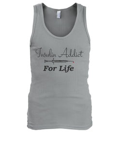 Insulin Addict For Life Men's Tank Tops
