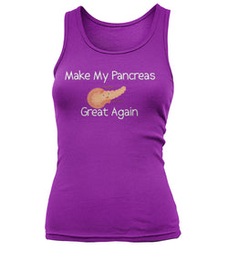 Make My Pancreas Great Again Women's Tank Tops