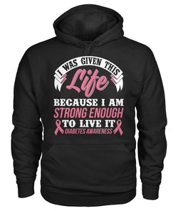 I Was Given This Life Hoodies