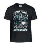 Pumping Ain't Easy  Youth Shirts