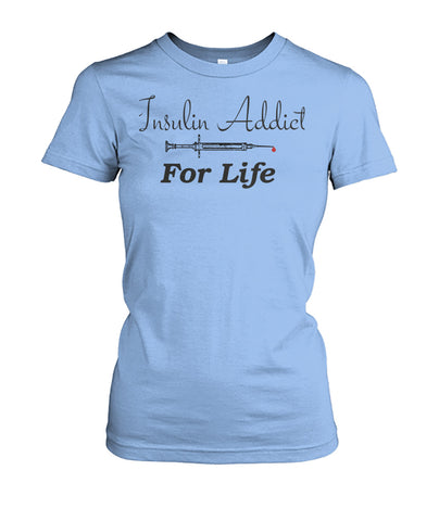 Women's Insulin Addict Shirts