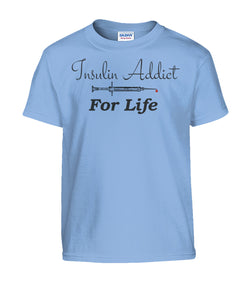 Youth Insulin Addict Shirts