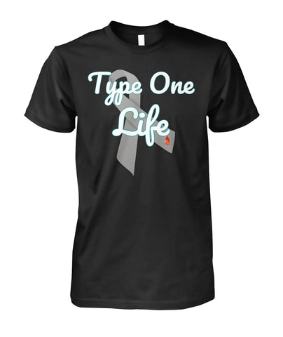 Type One Life Shirts Unisex Cotton Tee