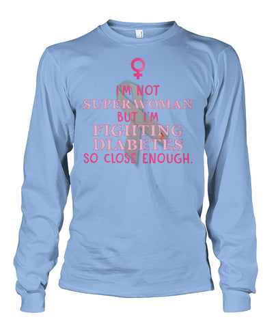 I'm not super women long sleeve