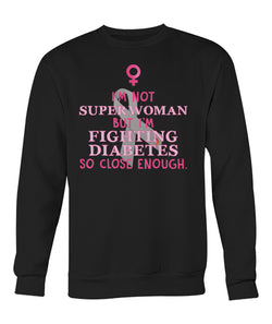 I'm not super women sweatshirts