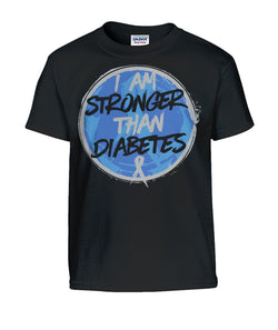 I Am Stronger Then Diabetes  Gildan Kids