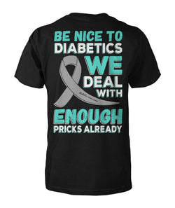 Be Nice To Diabetics !!
