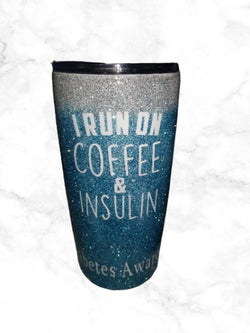 Custom Diabetes Awareness Tumbler