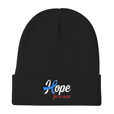 Hope For A Cure Knit Beanie