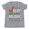 It's a Jolly Holiday on Main Street Youth unisex shirt