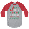 It's a Jolly Holiday on Main Street Unisex Raglan