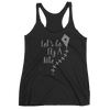 Let's Fly A Kite women's tank