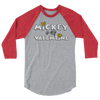 Mickey is My Valentine Raglan