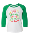 Have Yourself a Mickey Little Xmas Youth Raglan