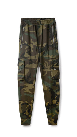 REP COTTON MILITARY PANTS - CAMO
