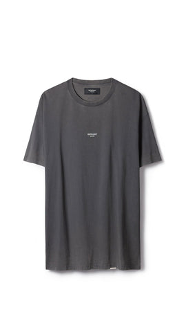 REP LOGO T-SHIRT WASHED GREY