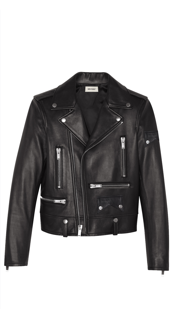 ANFA MOTO LEATHER JACKET